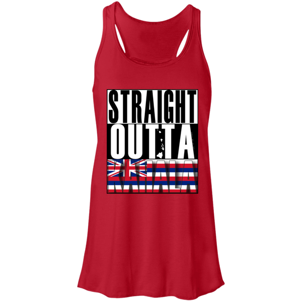 Straight Outta Kahala Hawai'i Racerback Tank, T-Shirts, Hawaii Nei All Day