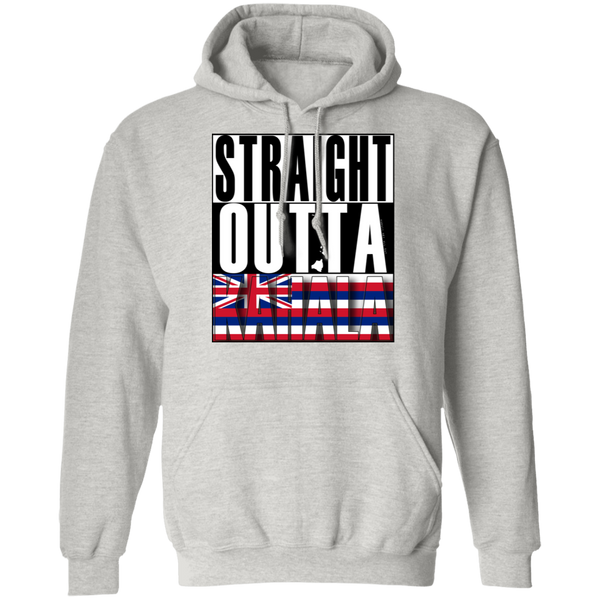 Straight Outta Kahala Hawai'i Pullover Hoodie, Sweatshirts, Hawaii Nei All Day