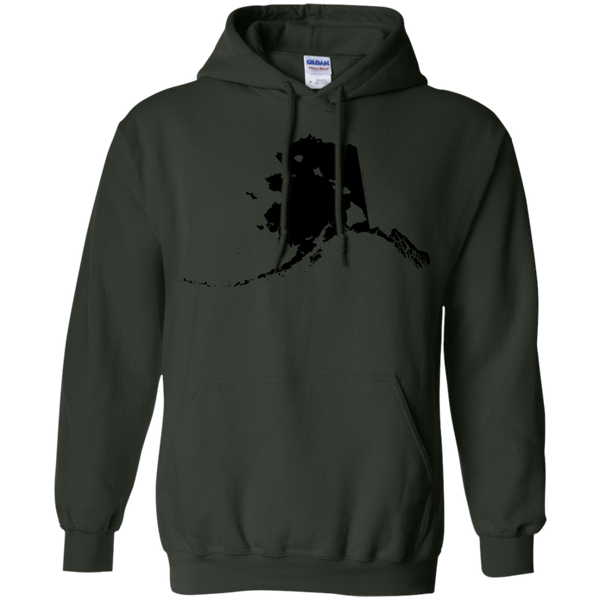 Living in Alaska with Hawaii Roots Pullover Hoodie 8 oz., Sweatshirts, Hawaii Nei All Day