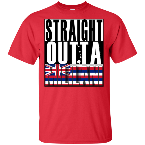 Straight Outta Mililani Hawai'i Ultra Cotton T-Shirt, T-Shirts, Hawaii Nei All Day