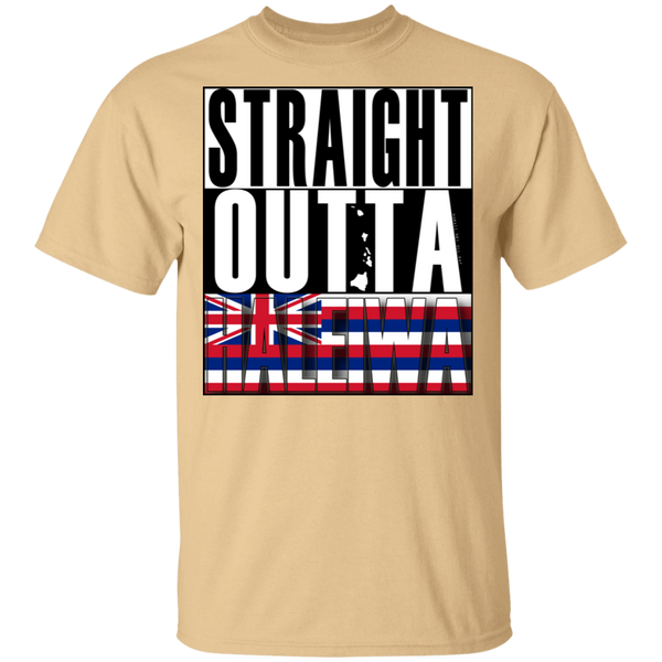 Straight Outta Haleiwa Hawai'i Ultra Cotton T-Shirt, T-Shirts, Hawaii Nei All Day