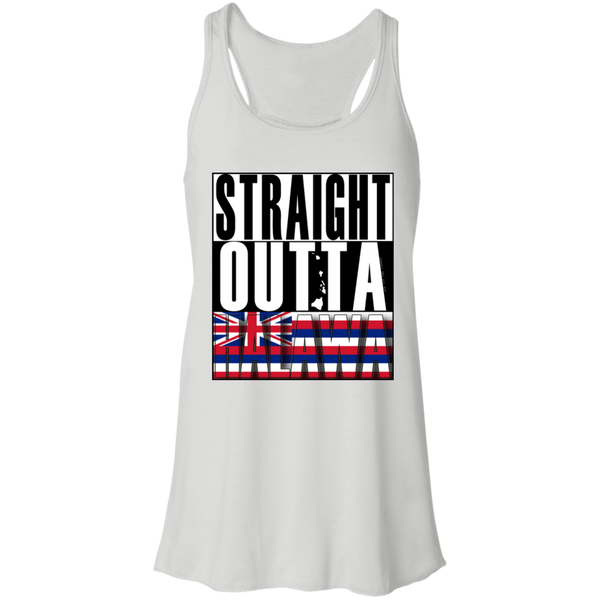 Straight Outta Halawa Hawai'i Racerback Tank, T-Shirts, Hawaii Nei All Day