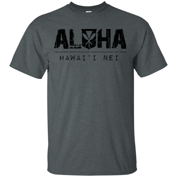 Aloha Hawai'i Nei Ultra Cotton T-Shirt, T-Shirts, Hawaii Nei All Day, Hawaii Clothing Brands
