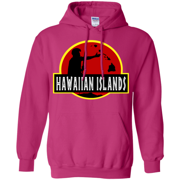 Hawaiian Islands Pullover Hoodie 8 oz, Hoodies, Hawaii Nei All Day, Hawaii Clothing Brands
