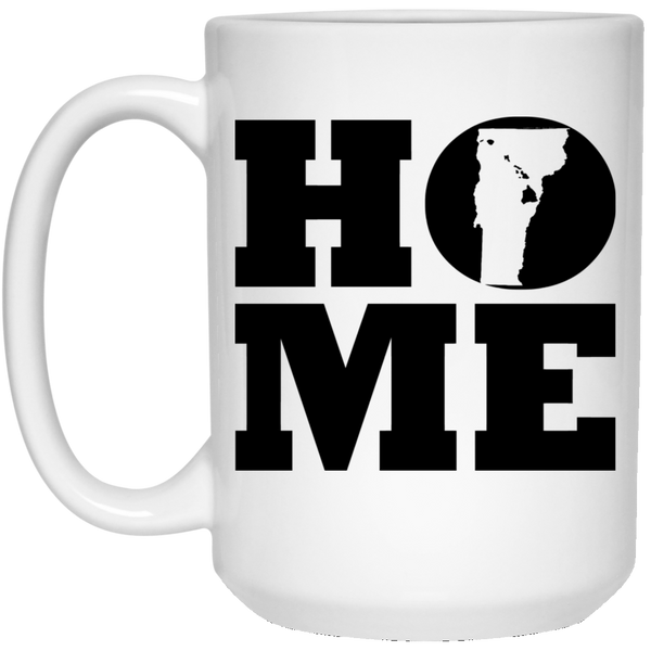 Home Roots Hawai'i and Vermont White Mug, Apparel, Hawaii Nei All Day