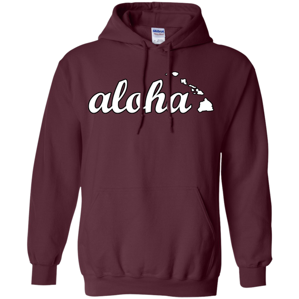 Aloha Pullover Hoodie, Hoodies, Hawaii Nei All Day