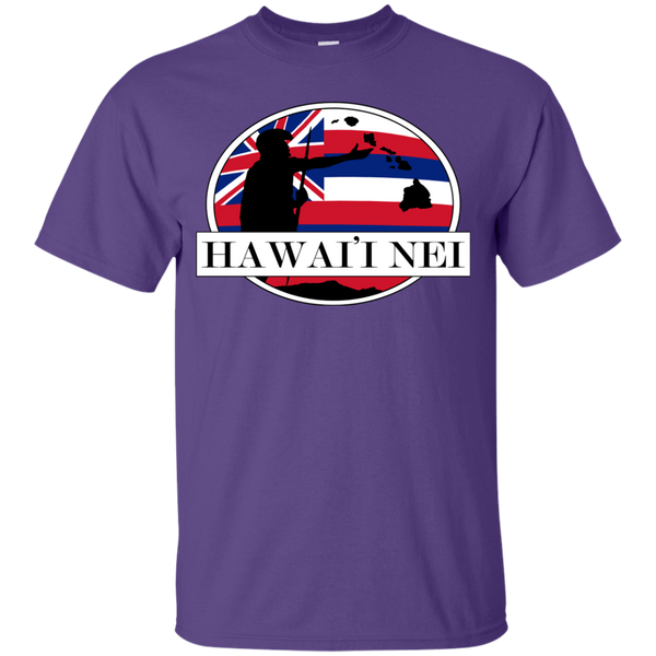 Hawai'i Nei Youth Custom Ultra Cotton Tee, T-Shirts, Hawaii Nei All Day