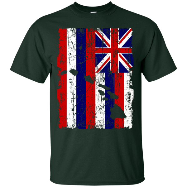 Hawaii - The Aloha State Custom Ultra Cotton T-Shirt, Short Sleeve, Hawaii Nei All Day, Hawaii Clothing Brands