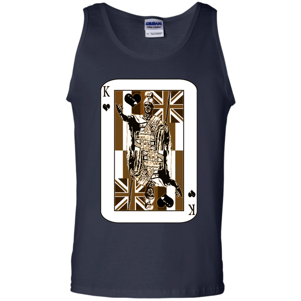 The King of Hawai'i 100% Cotton Tank Top - Hawaii Nei All Day