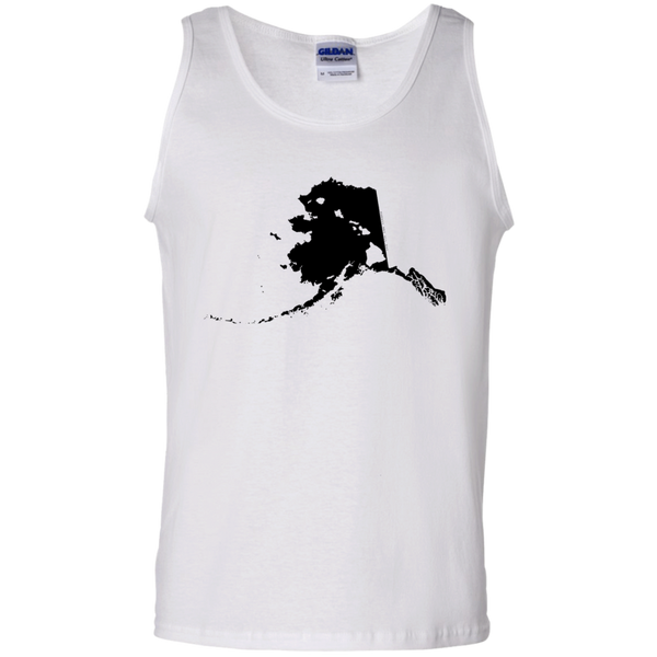 Living in Alaska with Hawaii Roots 100% Cotton Tank Top, T-Shirts, Hawaii Nei All Day