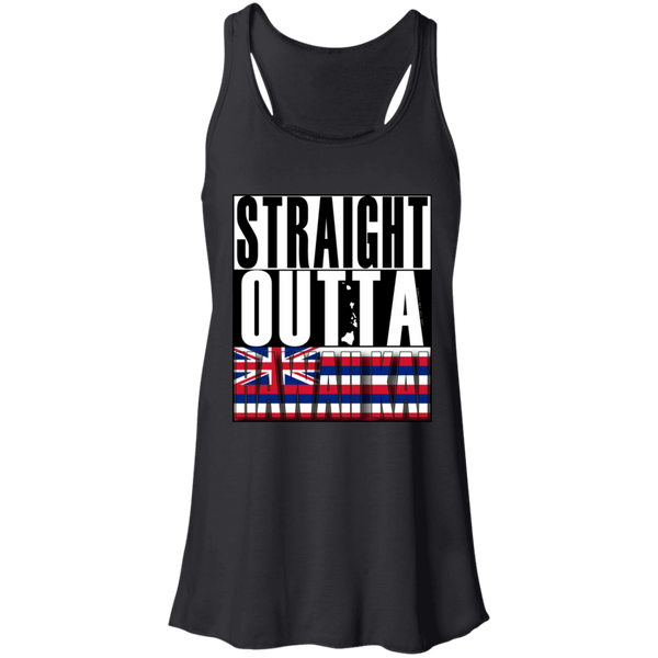 Straight Outta Hawaii Kai Hawai'i Racerback Tank, T-Shirts, Hawaii Nei All Day
