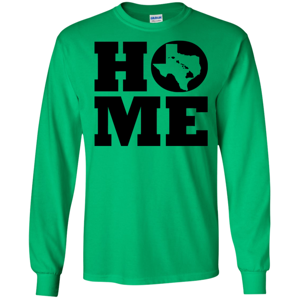 Home Roots Texas and Hawai'i LS Ultra Cotton T-Shirt, T-Shirts, Hawaii Nei All Day