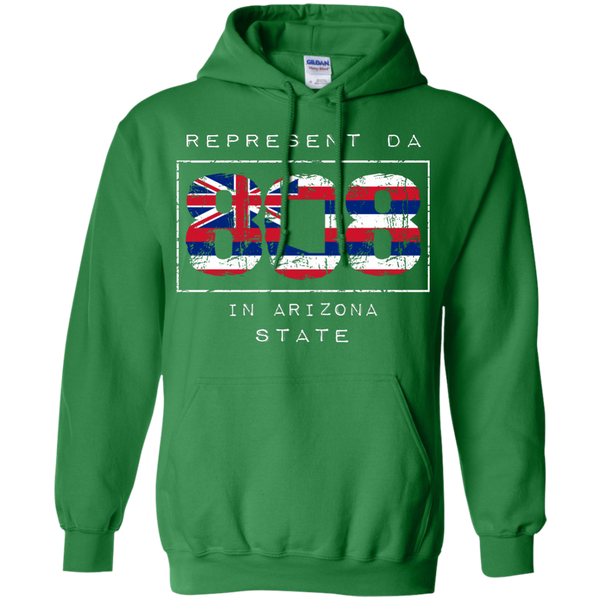 Represent Da 808 In Arizona State Pullover Hoodie 8 oz., Sweatshirts, Hawaii Nei All Day