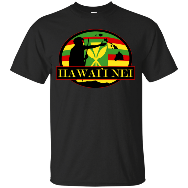 Hawai'i Nei Kanaka Maoli Youth Custom Ultra Cotton Tee, T-Shirts, Hawaii Nei All Day