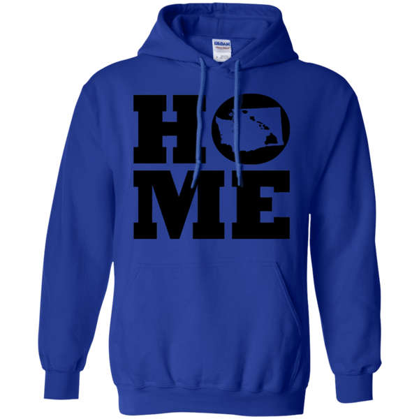 Home Roots Hawai'i and Washington Pullover Hoodie, Sweatshirts, Hawaii Nei All Day