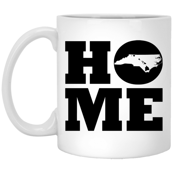 Home Roots Hawai'i and North Carolina White Mug, Apparel, Hawaii Nei All Day