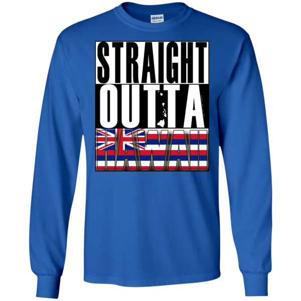 Straight Outta Hawaii LS Ultra Cotton T-Shirt