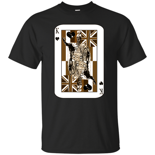 The King of Hawai'i Custom Ultra Cotton T-Shirt, Short Sleeve, Hawaii Nei All Day, Hawaii Clothing Brands
