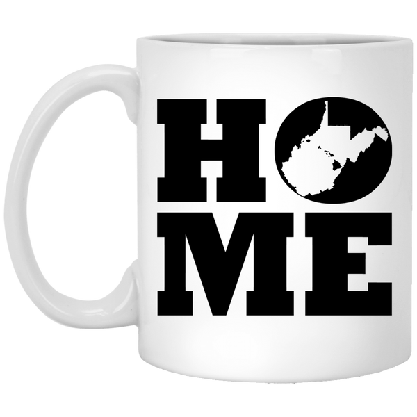 Home Roots Hawai'i and West Virginia White Mug, Apparel, Hawaii Nei All Day