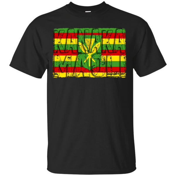 Kanaka Maoli Youth Custom Ultra Cotton Tee, T-Shirts, Hawaii Nei All Day