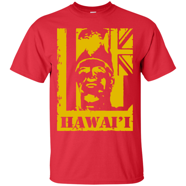 Hawai'i King Kamehameha (yellow)Ultra Cotton T-Shirt, T-Shirts, Hawaii Nei All Day, Hawaii Clothing Brands