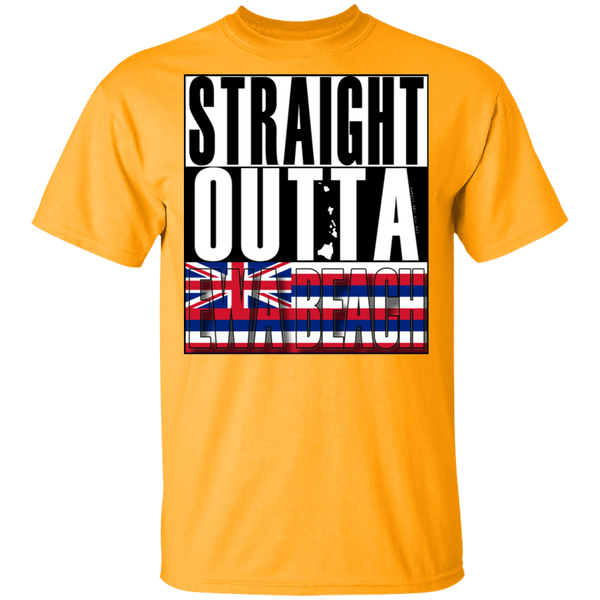 Straight Outta Ewa Beach T-Shirt, T-Shirts, Hawaii Nei All Day