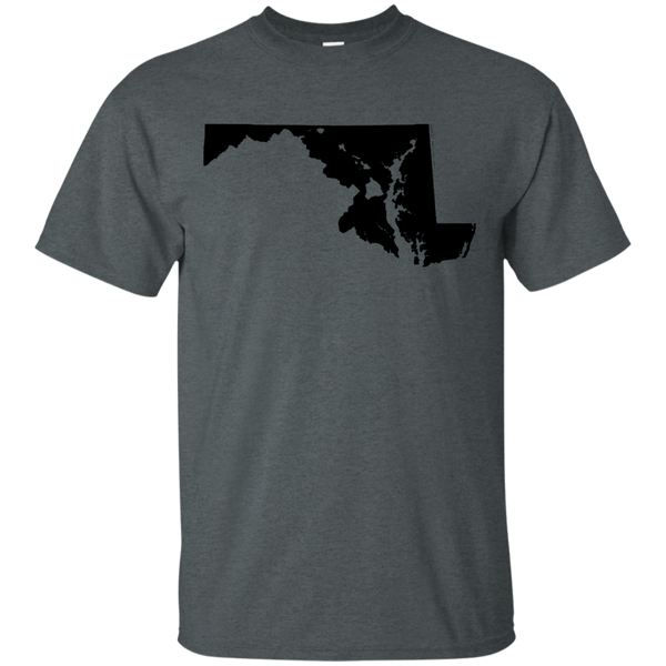 Living in Maryland with Hawaii Roots Ultra Cotton T-Shirt, T-Shirts, Hawaii Nei All Day, Hawaii Clothing Brands