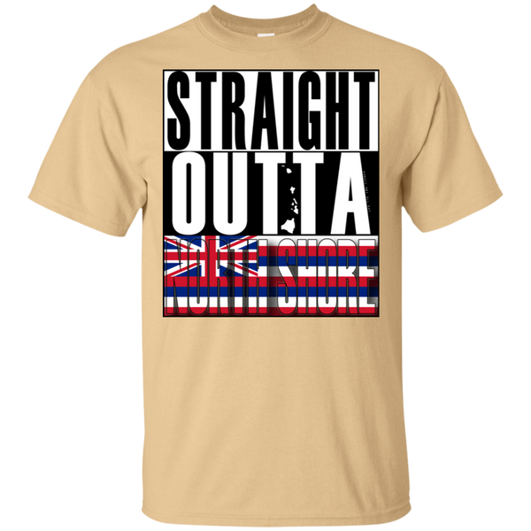 Straight Outta North Shore Ultra Cotton T-Shirt, T-Shirts, Hawaii Nei All Day