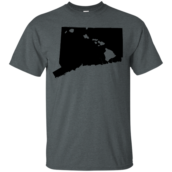 Living in Connecticut with Hawaii Roots Ultra Cotton T-Shirt, T-Shirts, Hawaii Nei All Day