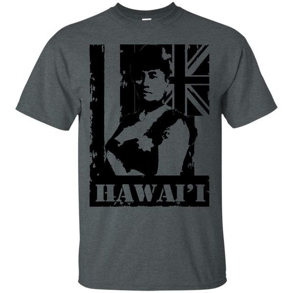 Hawai'i Queen Liliuokalani Ultra Cotton T-Shirt, T-Shirts, Hawaii Nei All Day