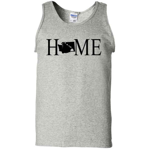 Home Hawaii & Washington 100% Cotton Tank Top