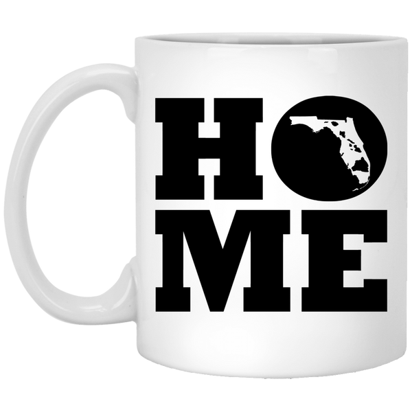 Home Roots Hawai'i and Florida White Mug, Apparel, Hawaii Nei All Day