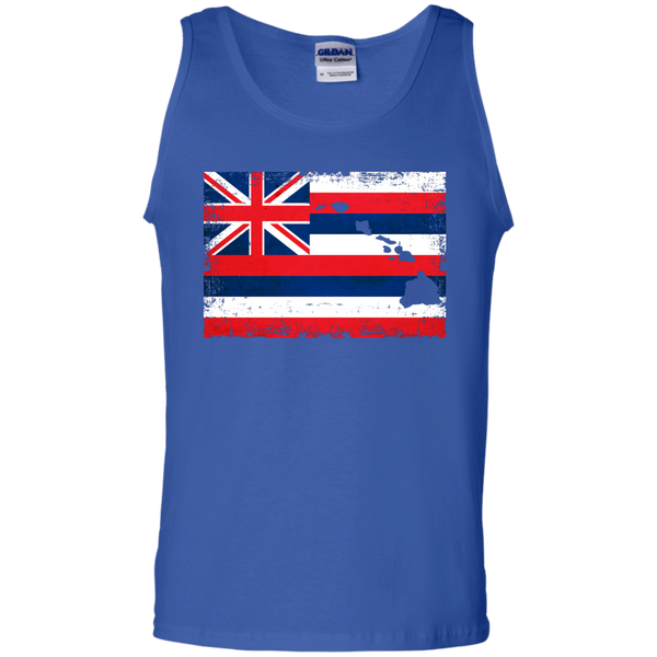 Hawaii State 100% Cotton Tank Top, Sleeveless, Hawaii Nei All Day, Hawaii Clothing Brands