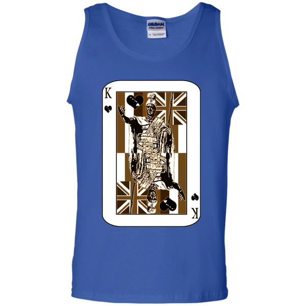 The King of Hawai'i 100% Cotton Tank Top, Sleeveless, Hawaii Nei All Day, Hawaii Clothing Brands