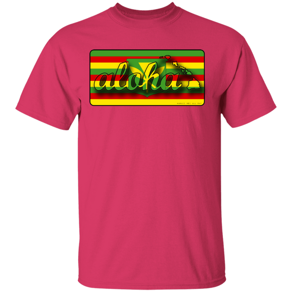 Aloha Hawaiian Islands Kanaka Maoli Flag T-Shirt, T-Shirts, Hawaii Nei All Day