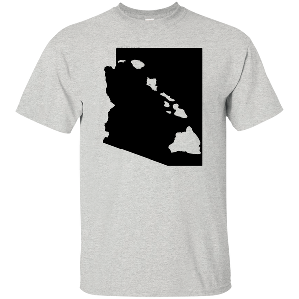 Living in Arizona with Hawaii Roots Ultra Cotton T-Shirt, T-Shirts, Hawaii Nei All Day, Hawaii Clothing Brands