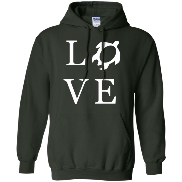 Honu LOVE Pullover Hoodie, Hoodies, Hawaii Nei All Day