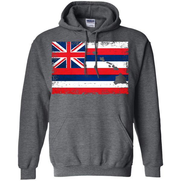 Hawaii State Pullover Hoodie 8 oz, Hoodies, Hawaii Nei All Day, Hawaii Clothing Brands