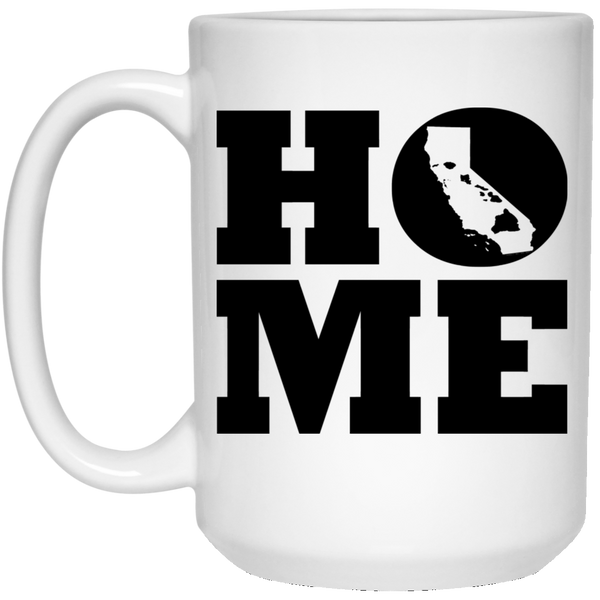 Home Roots Hawai'i and California White Mug, Apparel, Hawaii Nei All Day