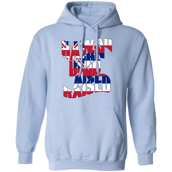 Hawaii Born and Raised Flag Pullover Hoodie, Sweatshirts, Hawaii Nei All Day