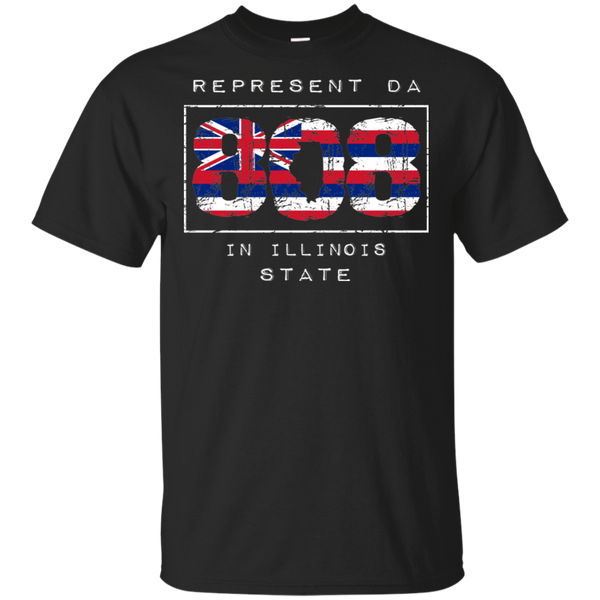 Rep Da 808 In Illinois State Ultra Cotton T-Shirt