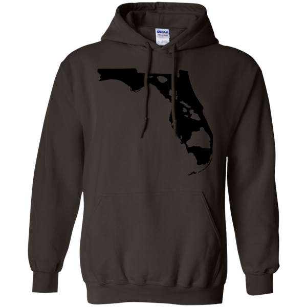 Living in Florida with Hawaii Roots Pullover Hoodie - Hawaii Nei All Day