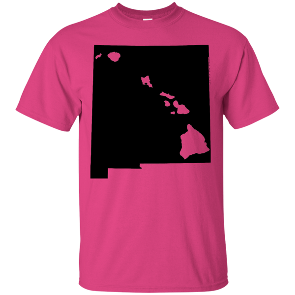 Living in New Mexico with Hawaii Roots Ultra Cotton T-Shirt, T-Shirts, Hawaii Nei All Day