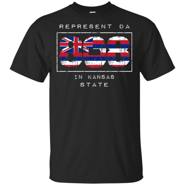 Rep Da 808 In Kansas State Ultra Cotton T-Shirt