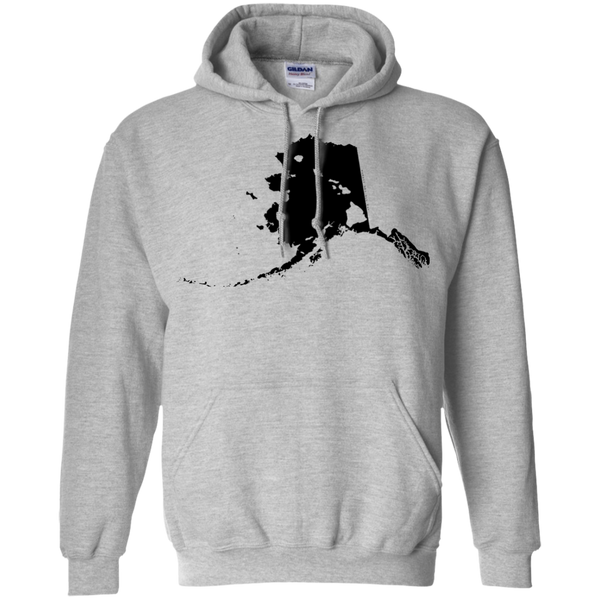 Living in Alaska with Hawaii Roots Pullover Hoodie, Sweatshirts, Hawaii Nei All Day