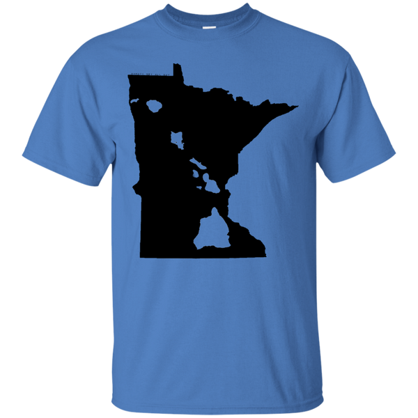 Living in Minnesota with Hawaii Roots Ultra Cotton T-Shirt - Hawaii Nei All Day