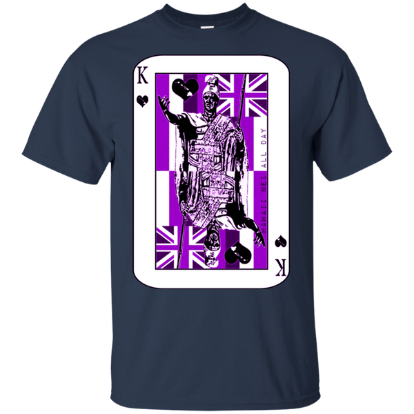 The King of Hawai'i Kamehameha (purple ink) Ultra Cotton T-Shirt, T-Shirts, Hawaii Nei All Day