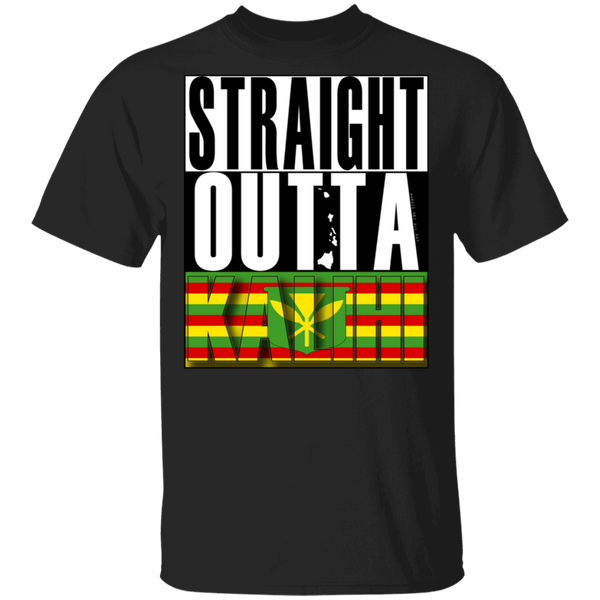 Straight Outta Kalihi (Kanaka Maoli) T-Shirt, T-Shirts, Hawaii Nei All Day