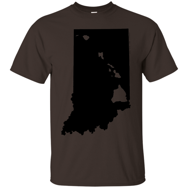 Living in Indiana with Hawaii Roots Ultra Cotton T-Shirt, T-Shirts, Hawaii Nei All Day, Hawaii Clothing Brands