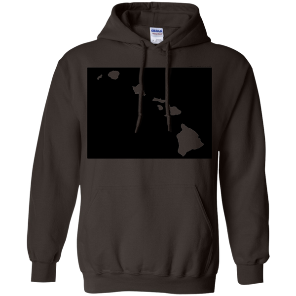Living in Colorado with Hawaii Roots Pullover Hoodie, Sweatshirts, Hawaii Nei All Day